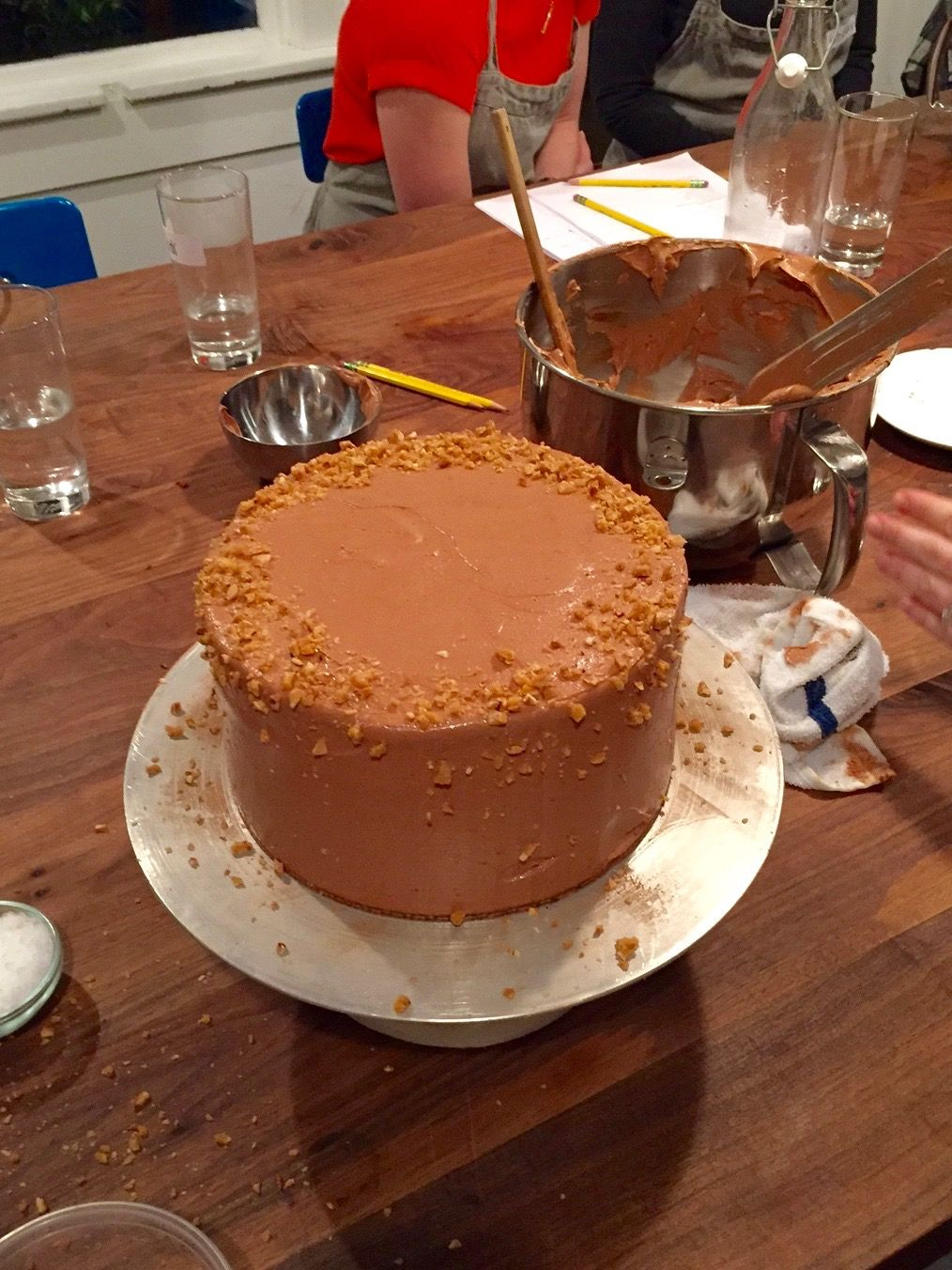 A special cake baking class seattle style no bake cake