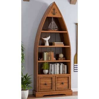 Best Gig Display Boat Bookcase In 2020 Boat Bookcase Home 400 x 300