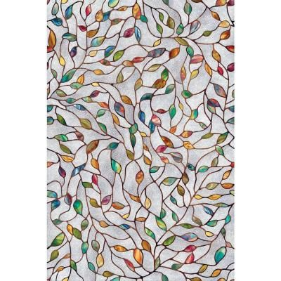 1c2e2162c0b Artscape 24 in. x 36 in. New Leaf Decorative Window Film-02-3021 at The  Home Depot