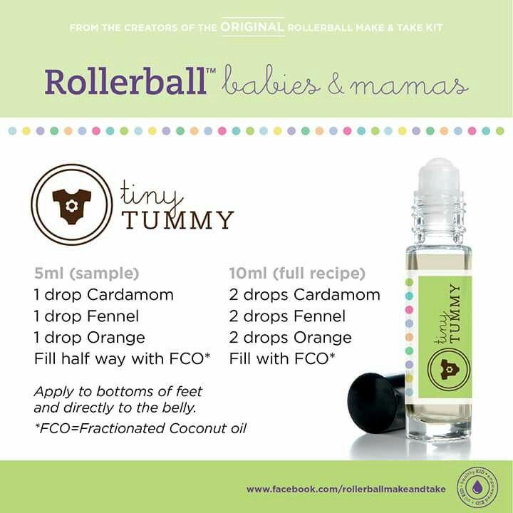 Tiny Tummy Rollerball Recipe Essential Oils For Babies Essential Oils For Kids Essential Oil Roller Bottle Recipes