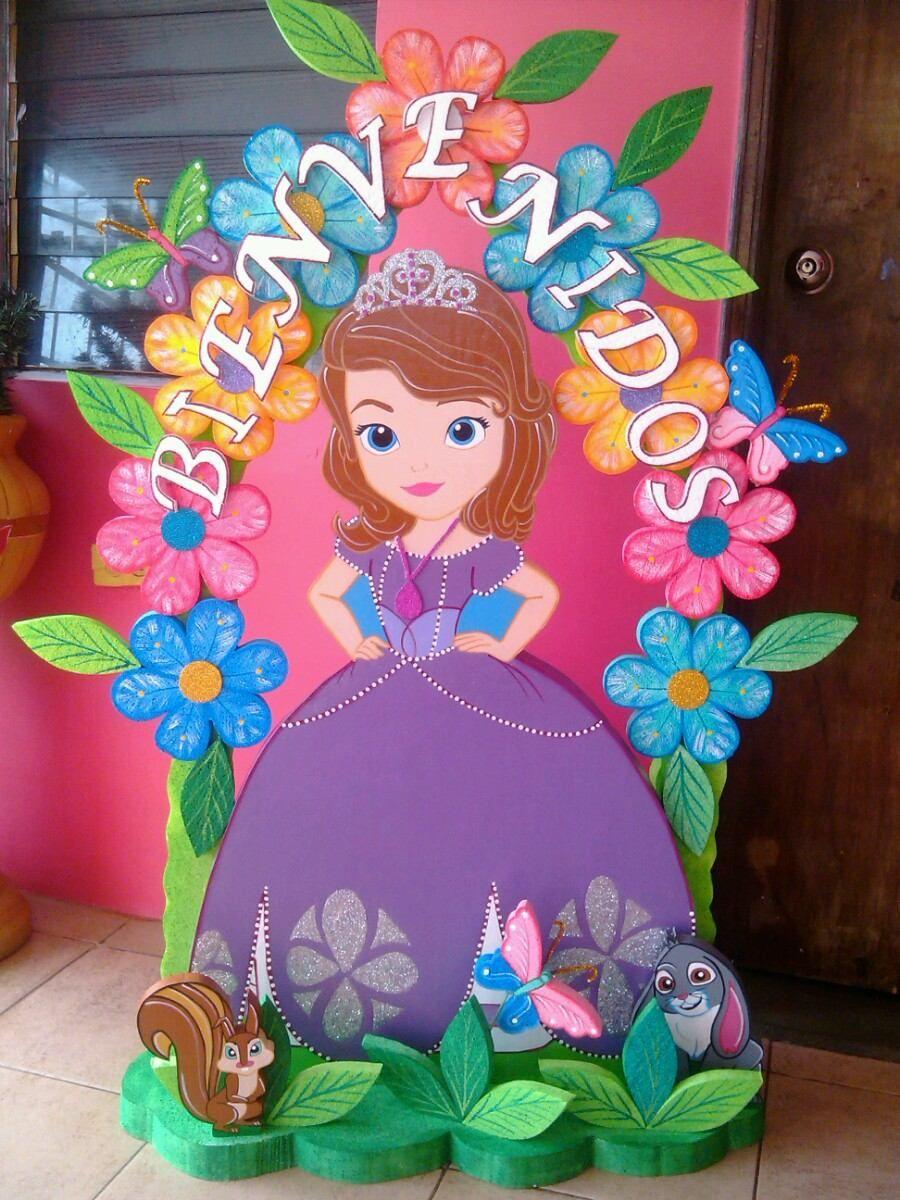 Bienvenidos de princesas imagui fomy decoracion - Fiestas de cumpleanos de princesas ...