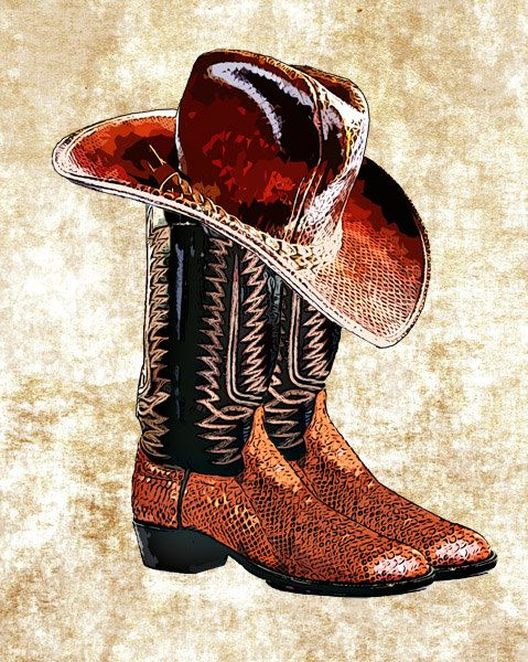 Snake Skin Cowboy Boots Cowboy Hat Png Clip By Digitalgraphicsshop 1 75 Bilder Kort