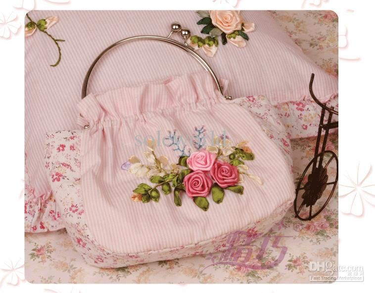 Wholesale cheap tape embroidery online - Find best dIY rIBBON tAPE eMBROIDERY hANDBAG at discount prices from Chinese other home décor supplier on DHgate.com.