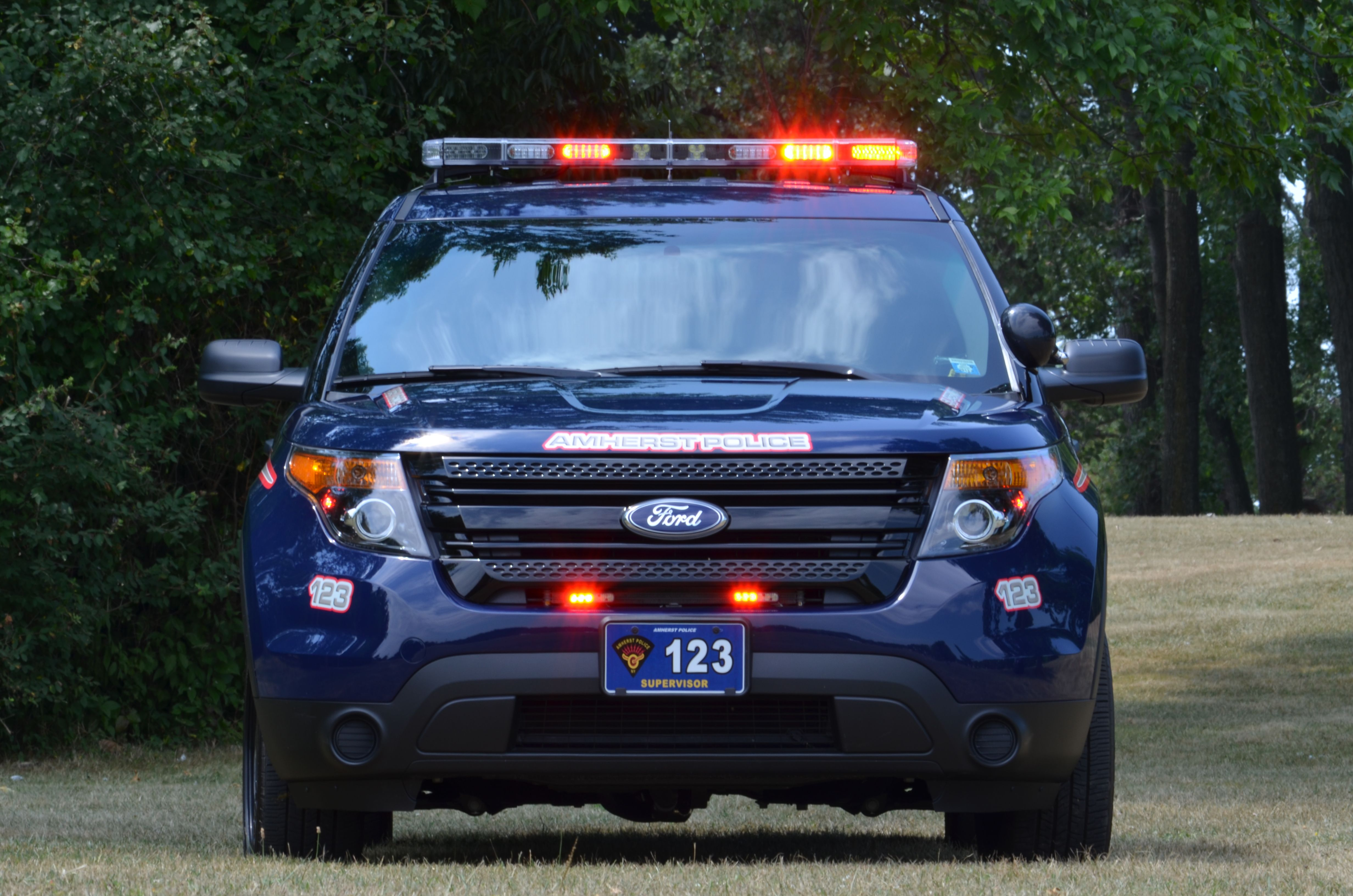 Amherst Police Car 123 Police Cars Ford Police Emergency Vehicles