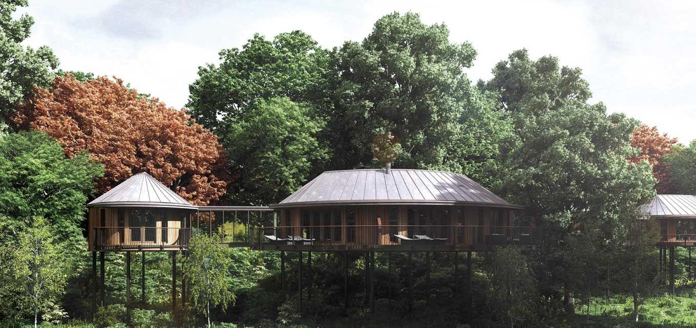 Tree House Suites Chewton Glen Hampshire Uk Cool