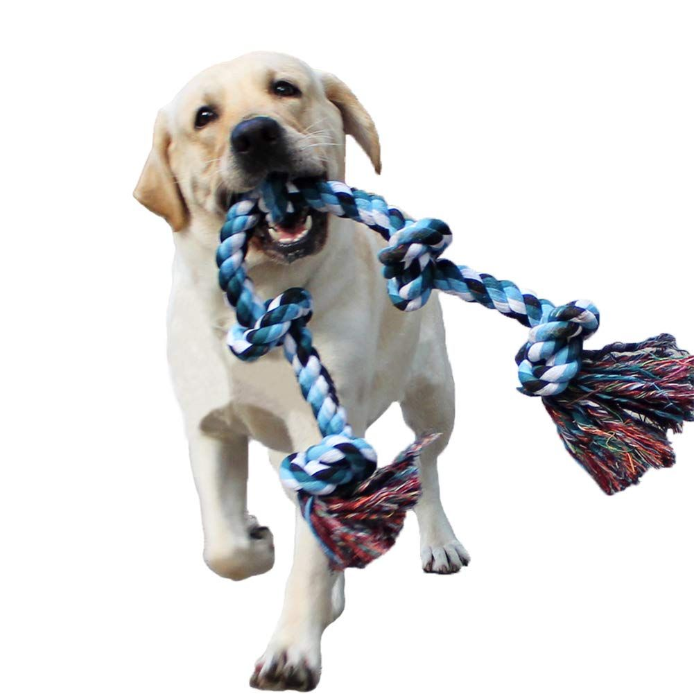 Lechong Dog Rope Toys For Aggressive Chewers Tough Rope Chew Toys