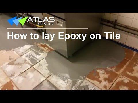Epoxy Flooring on Tile- Non-slip Commercial Kitchen Flooring in ...