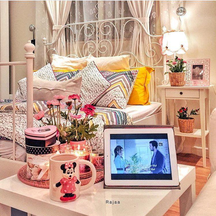 ديكورات من منازلكم On Instagram Rajaa24 غرفة نوم الأخت ماشاءالله اكسسوارت الناس الرايئة ايكيا هوم سنتر Sleeping Room Room Room Decor