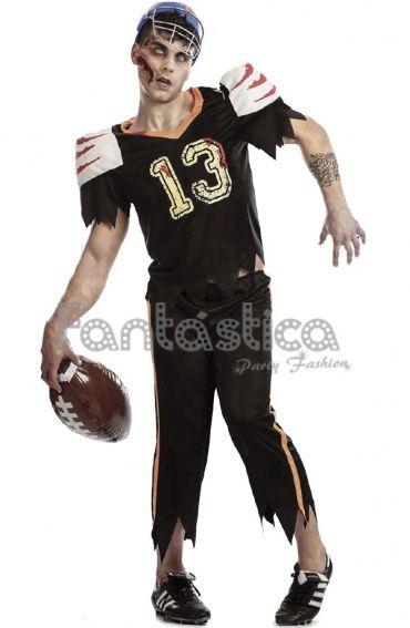 Disfraz Para Hombre Jugador De Rugby Zombie Ii Disfraz Hombre Disfraces De Halloween Para Hombres Disfraz