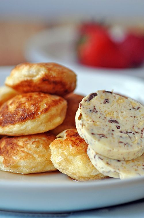Bill Granger's Ricotta Hotcakes with Honeycomb Butter – Danish Style