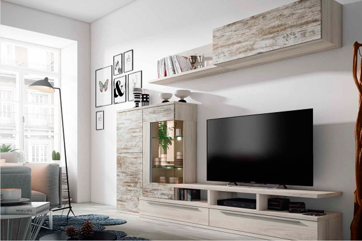 Resultado De Imagen Para Salones Modulares Modernos Madrid  # Muebles Mas Baratos