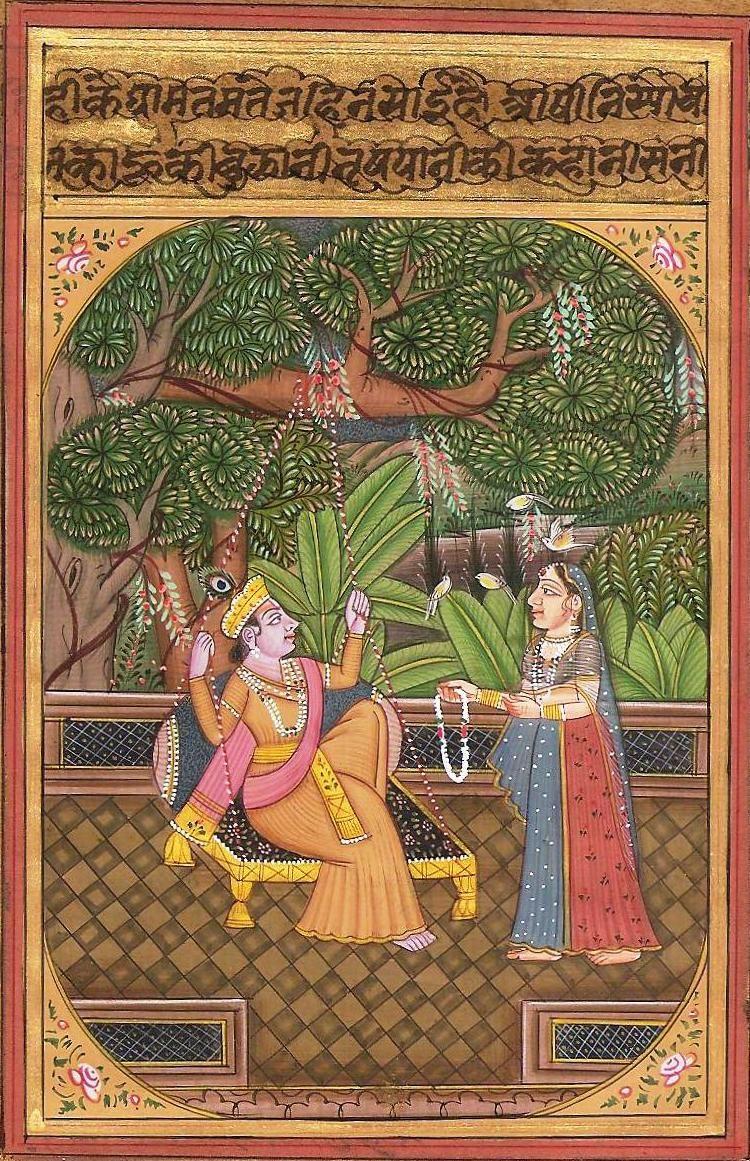 ArtnIndia   Mughal paintings, Rajasthani art, Madhubani painting