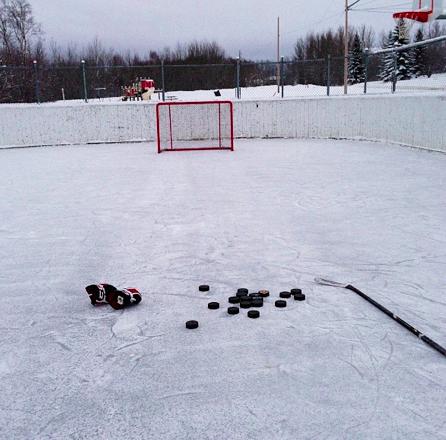 hockey life outdoor Hockey life