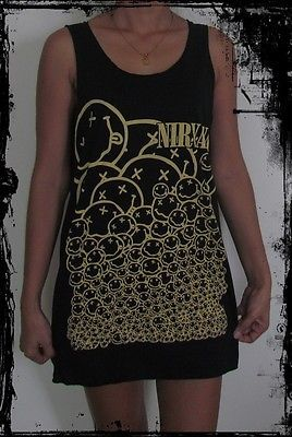 Nirvana Unisex Vest Tank Top Singlet T-Shirt Dress Fashion Sizes S-XL