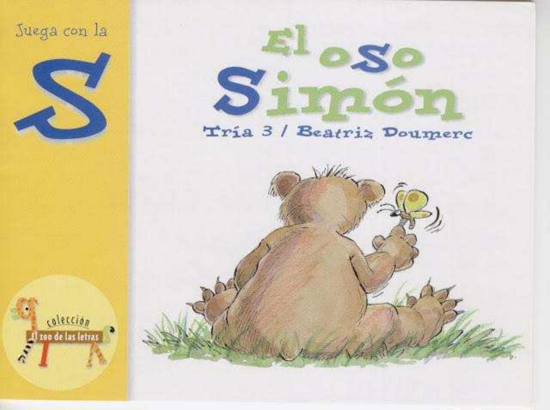 El Oso Simón El Zoo De Las Letras O Book Cover Books Author