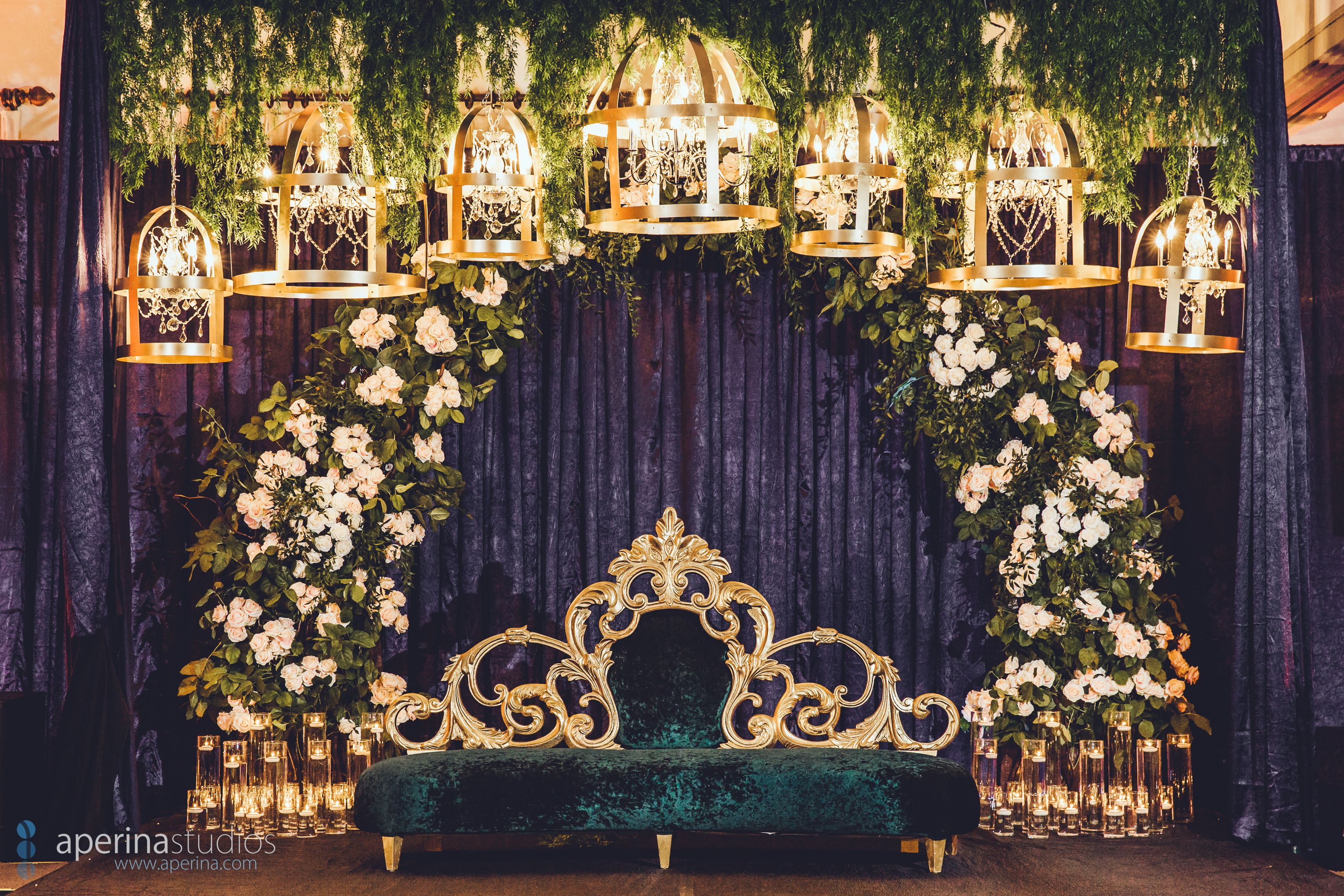 STUNNING extraordinary wedding reception decor with flower