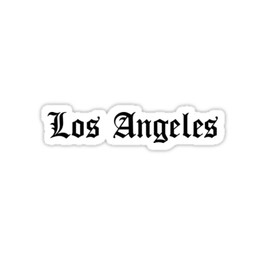 Los Angeles Stickers Laptopstickers College Collegelife Decal Decals Stationery Stationerylove Style Blog Blogger Blogging Bloglife Laptop Redbub