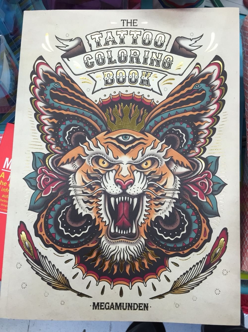 The tattoo coloring book megamunden - Tattoo Coloring Book See Inside Http Www Megamunden Com