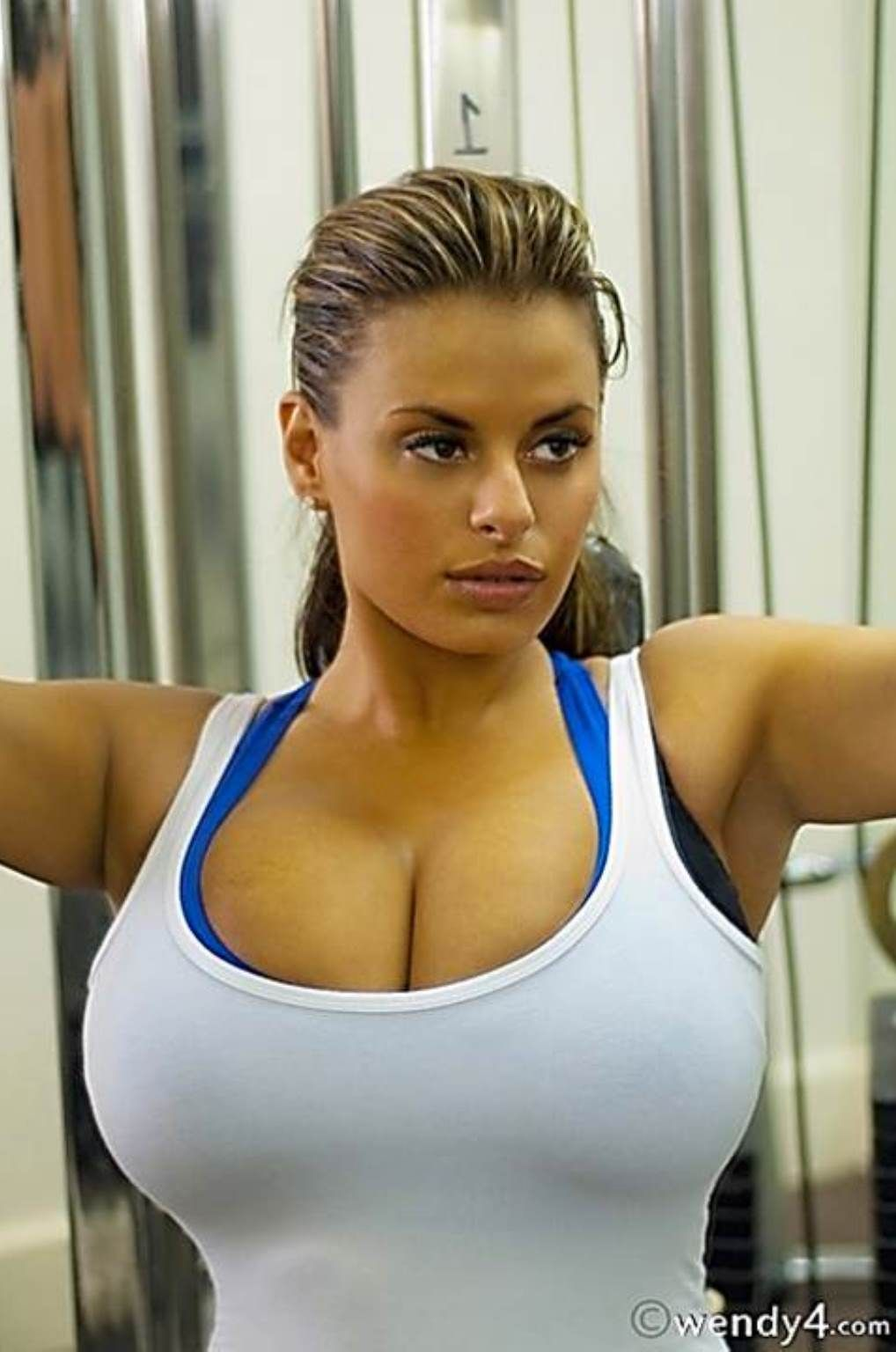 Heisse Girls Anziehen Kurvige Passform Molliges Model Weibliche Models Fitness Frauen