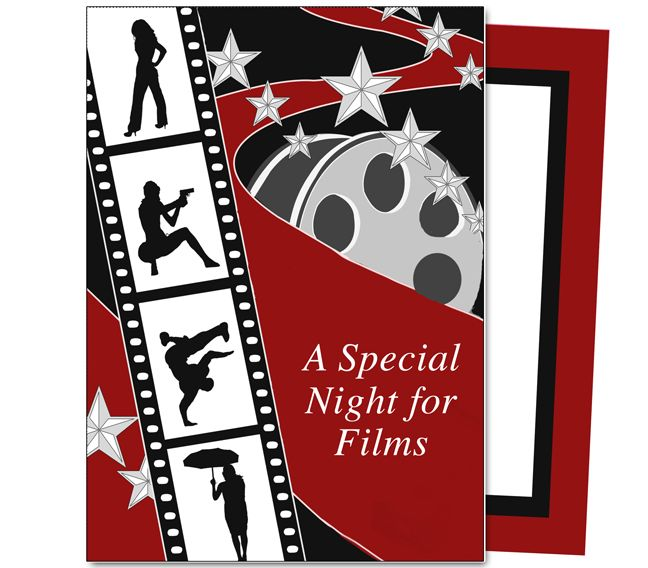 Oscar Party  Filmstrip Oscar Party Template Movies and TVs - movie themed invitation template