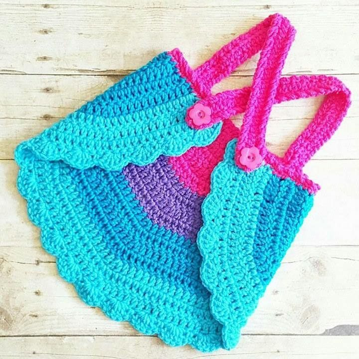 Crochet Baby Swing Top Halter Top Tank Top Backless Shirt Newborn ...