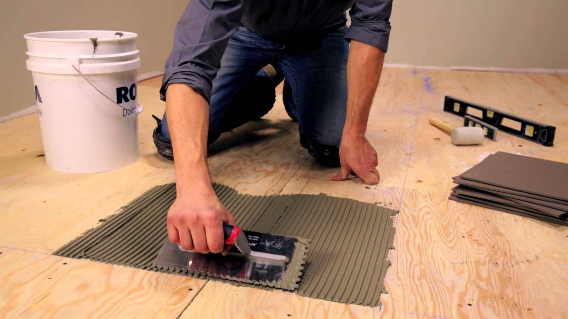 Tile Can Be Installed Over Various Types Of Subfloor The Most