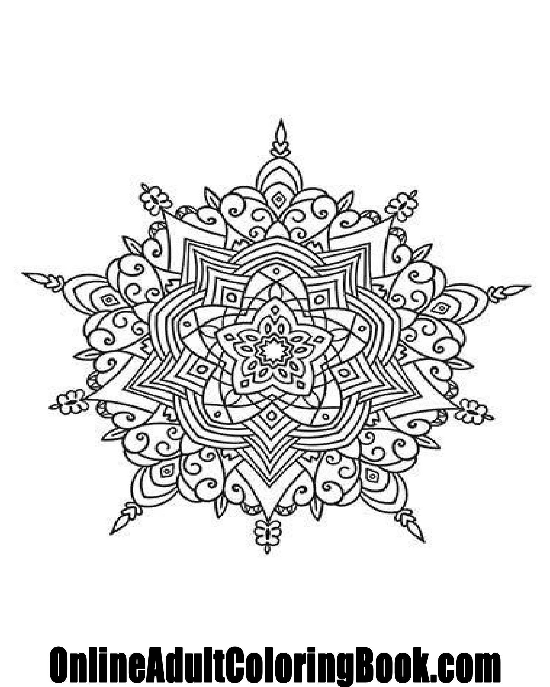 Our latest free adult coloring page! Visit us at online ...