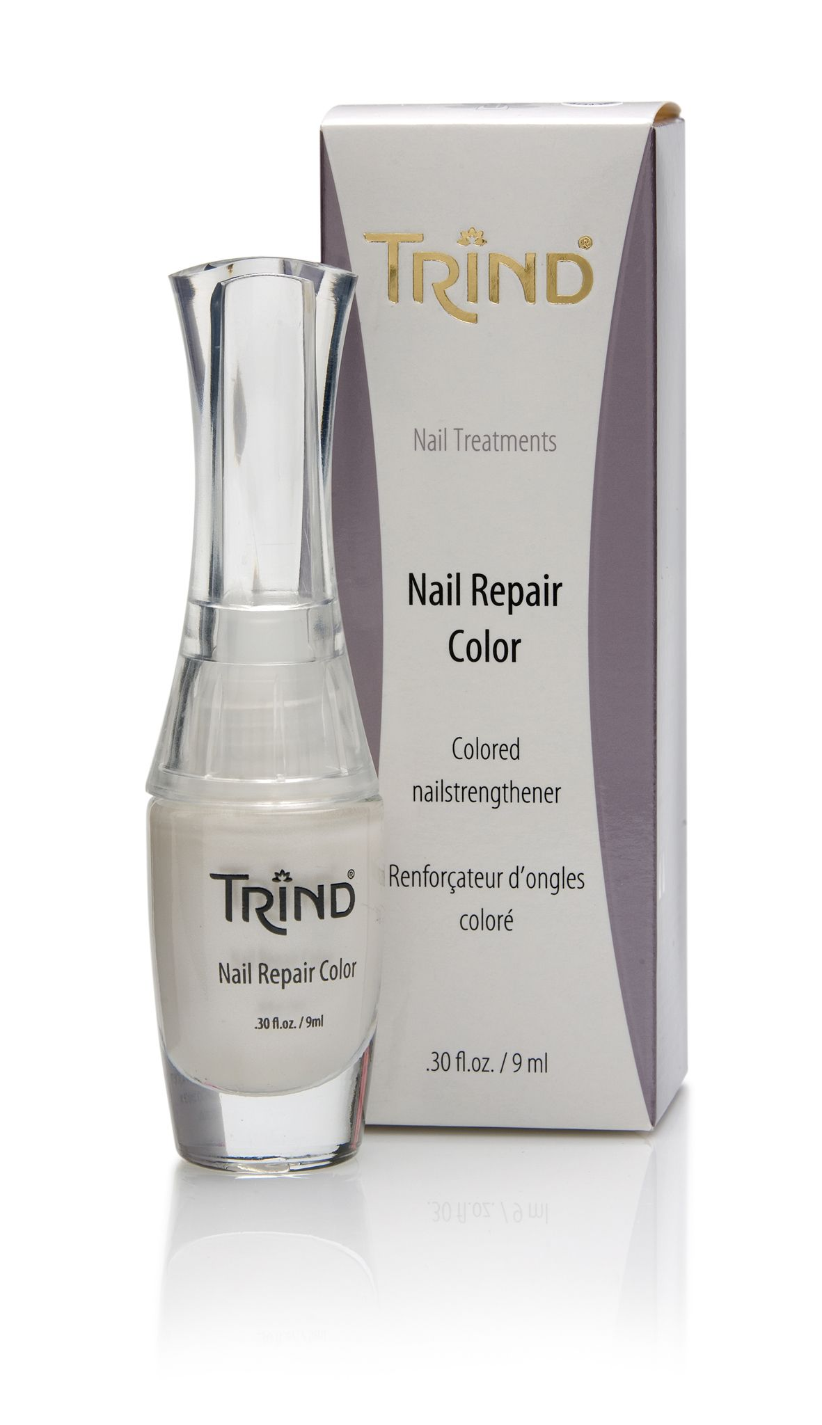 Healthy, strong nails in just two weeks. TRIND Nail Repair Pure ...