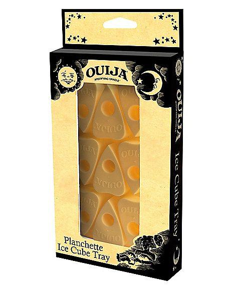 Planchette Ouija Ice Cube Tray Hasbro Spirithalloween Com Ouija Cube Planchette