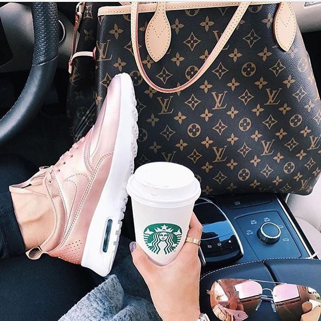 Starbuck Lv and sneakers