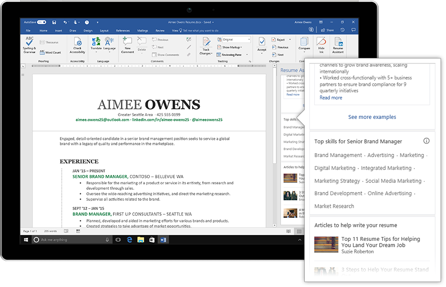 Microsoft adds AIpowered LinkedIn resume assistant to