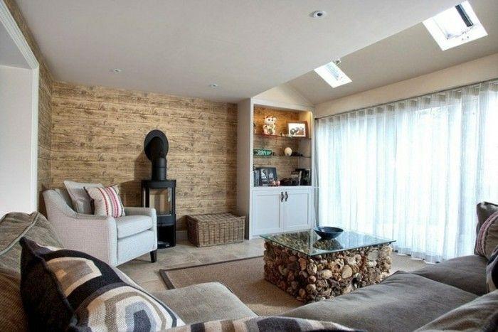 hochwertige inneneinrichtung holzdesign wohnzimmer Wohnzimmer - inneneinrichtung