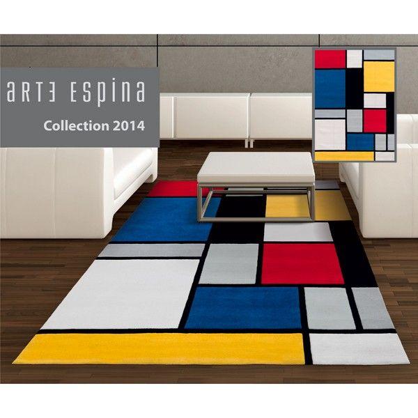 mondrian tapis pinterest art en bois meubles et tapis. Black Bedroom Furniture Sets. Home Design Ideas