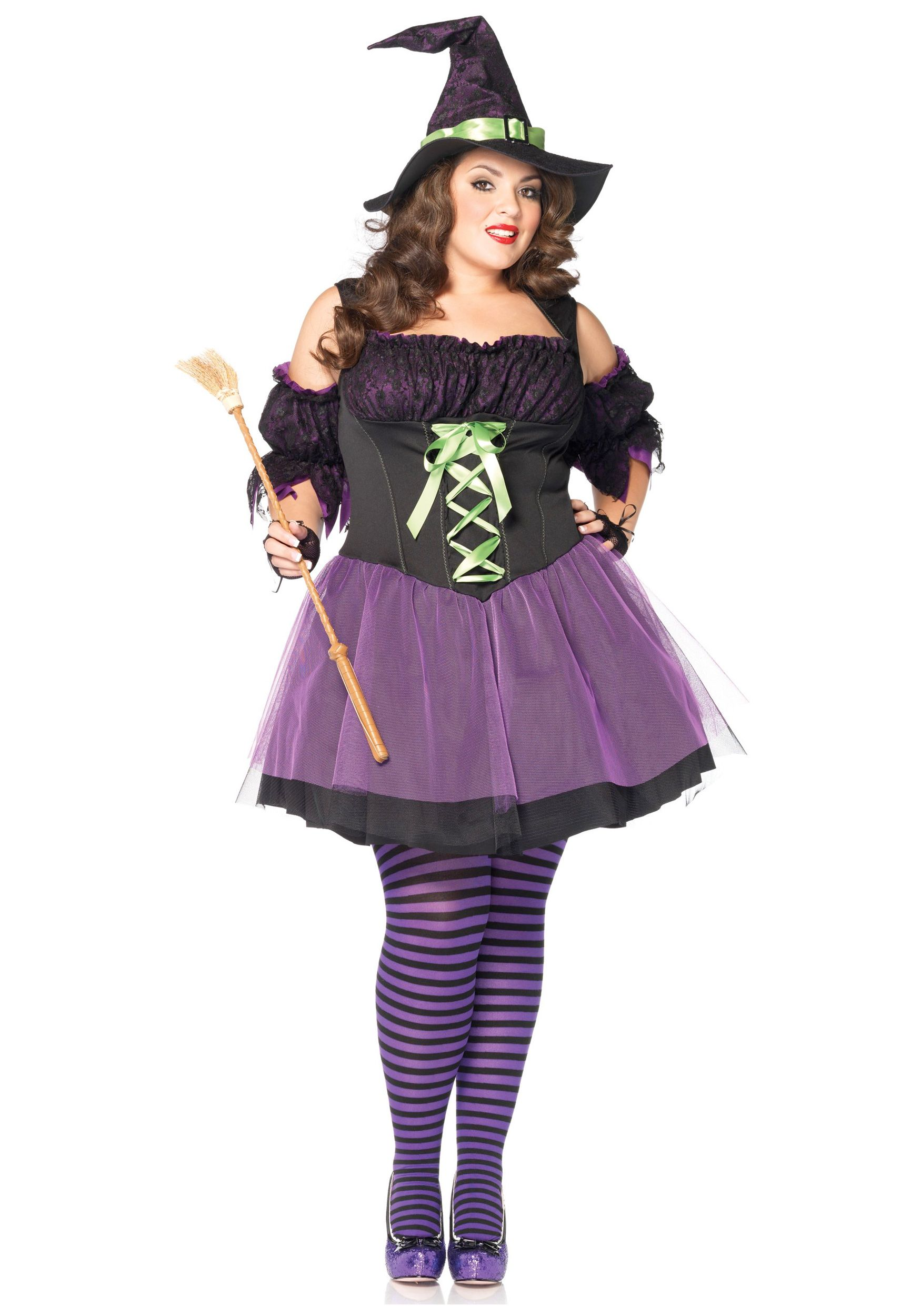 Plus Size Vixen Witch Costume  Costume Cosplay  Witch -2699