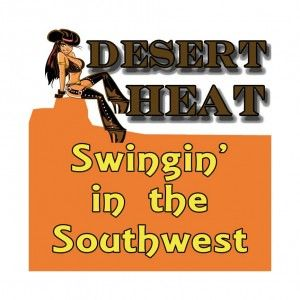 Swinging party in desert texas