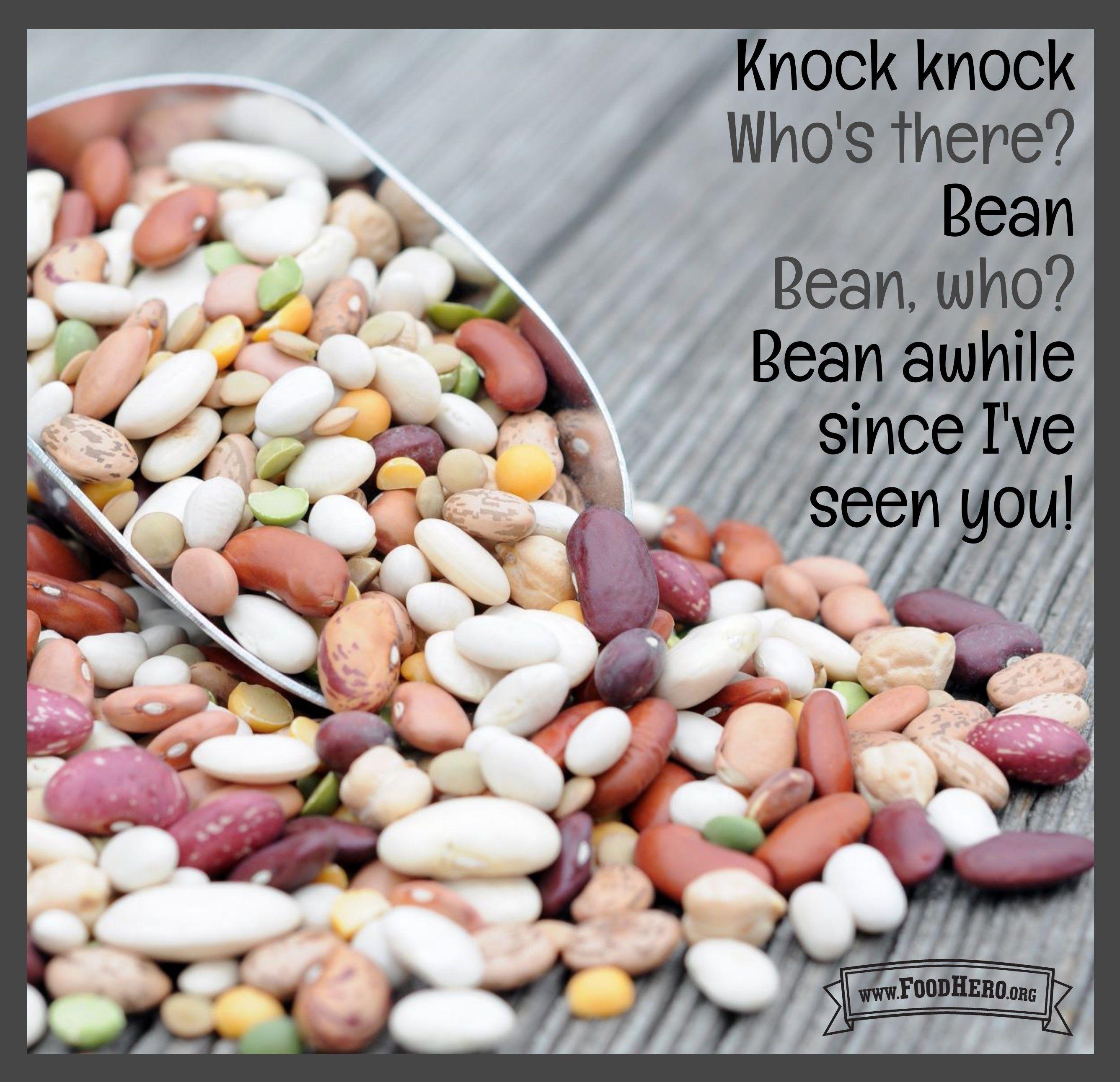 Bean Joke Food Jokes Beans Food