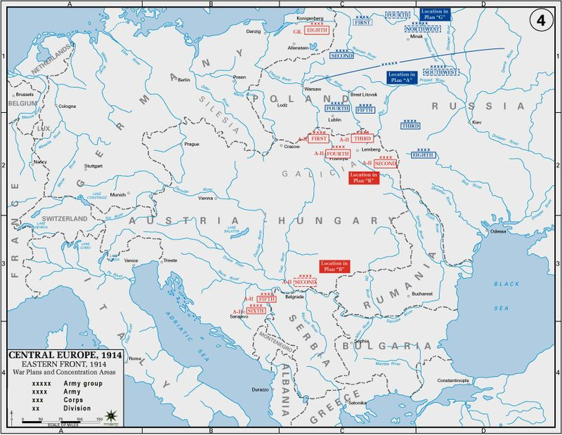 Eastern Front, 1914 - Ostfront (Erster Weltkrieg) – Wikipedia