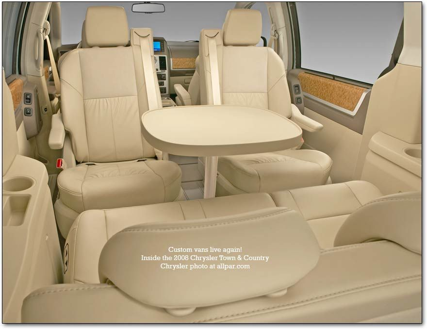 minivan chairs with table kool pinterest chrysler town and rh pinterest com van with tail lift london van with tail lift hire near me