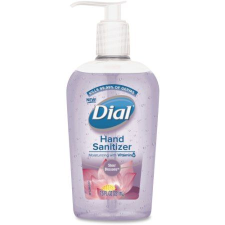 Beauty Hand Sanitizer Bottle Hands
