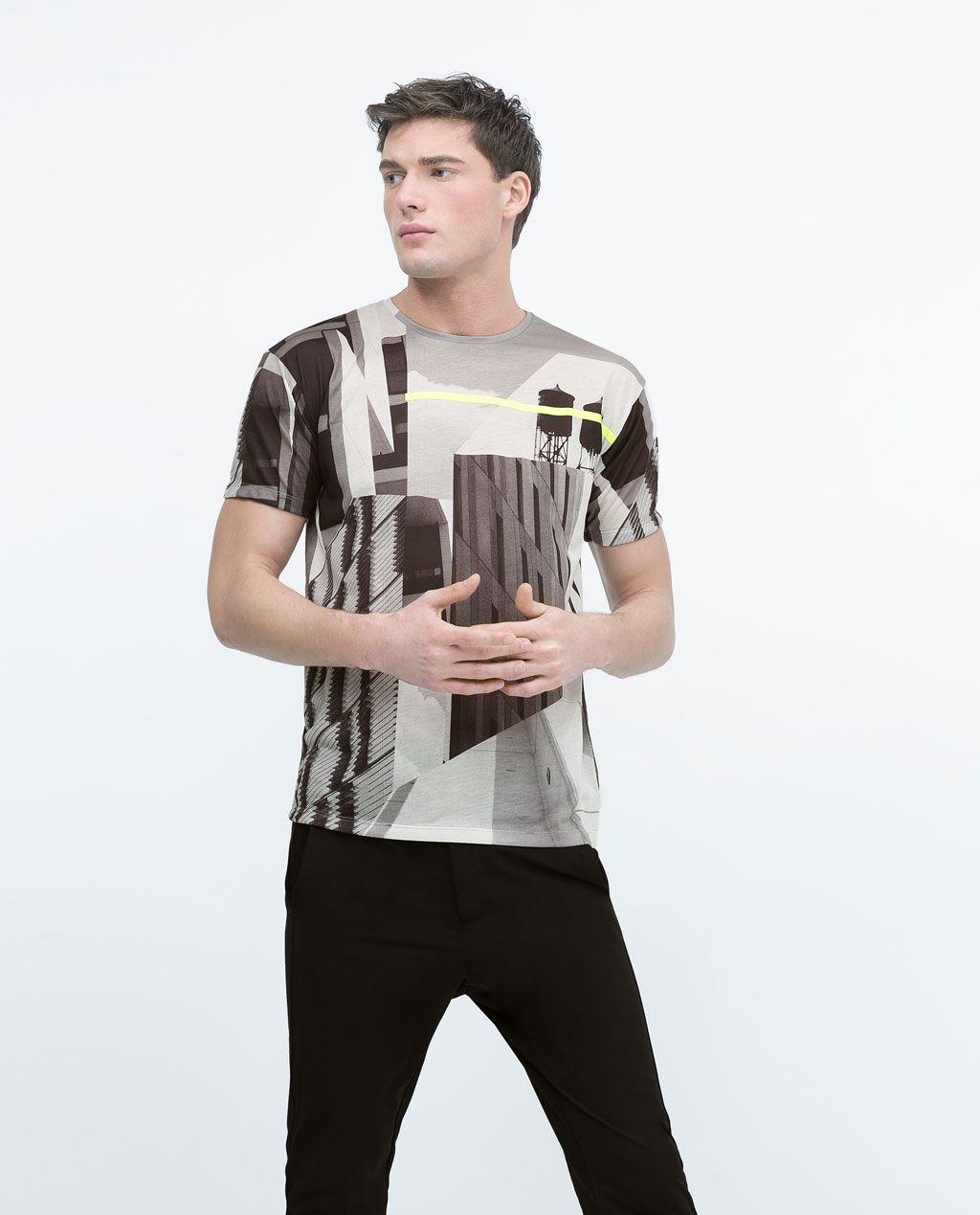 B7gyf6 Camisetas Manga Cortamens Stuff Zara Eie2wbhyd9 Hombre Camiseta I6bfYyvg7