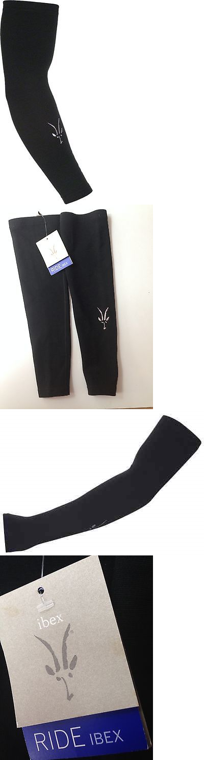 b45e651bd Arm Knee and Leg Warmers 85045  Ibex Wool Arm Warmers  Black Medium ...