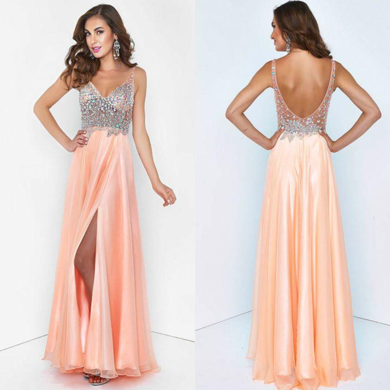 Modelos de vestidos largos para fiestas 2015