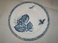 ancienne assiette choisy le roi decor insectes terre de fer piatti plats assiettes. Black Bedroom Furniture Sets. Home Design Ideas