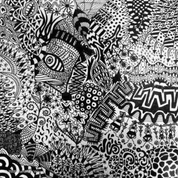 Art érotique abstrait