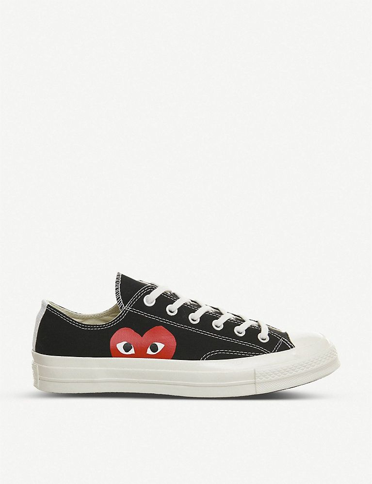 COMME DES GARCONS Converse 70s x play cdg trainers in 2020 ...