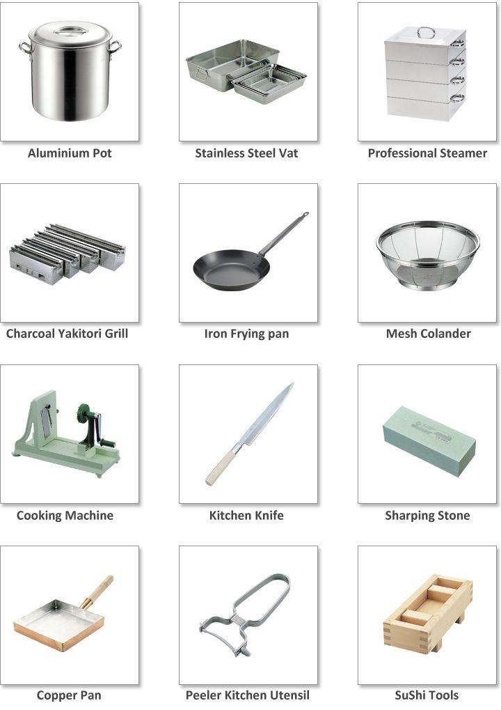 Stainless Steel Kitchen utensils \
