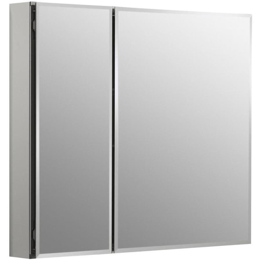 Kohler 30 In X 26 In Rectangle Recessed Aluminum Mirrored Medicine