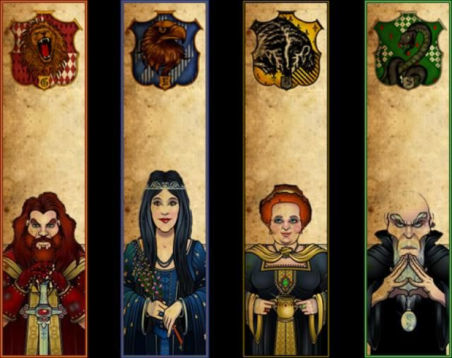 Banderas de los grupos de harry potter buscar con google harry potter pinterest banderas - Harry potter casa ...