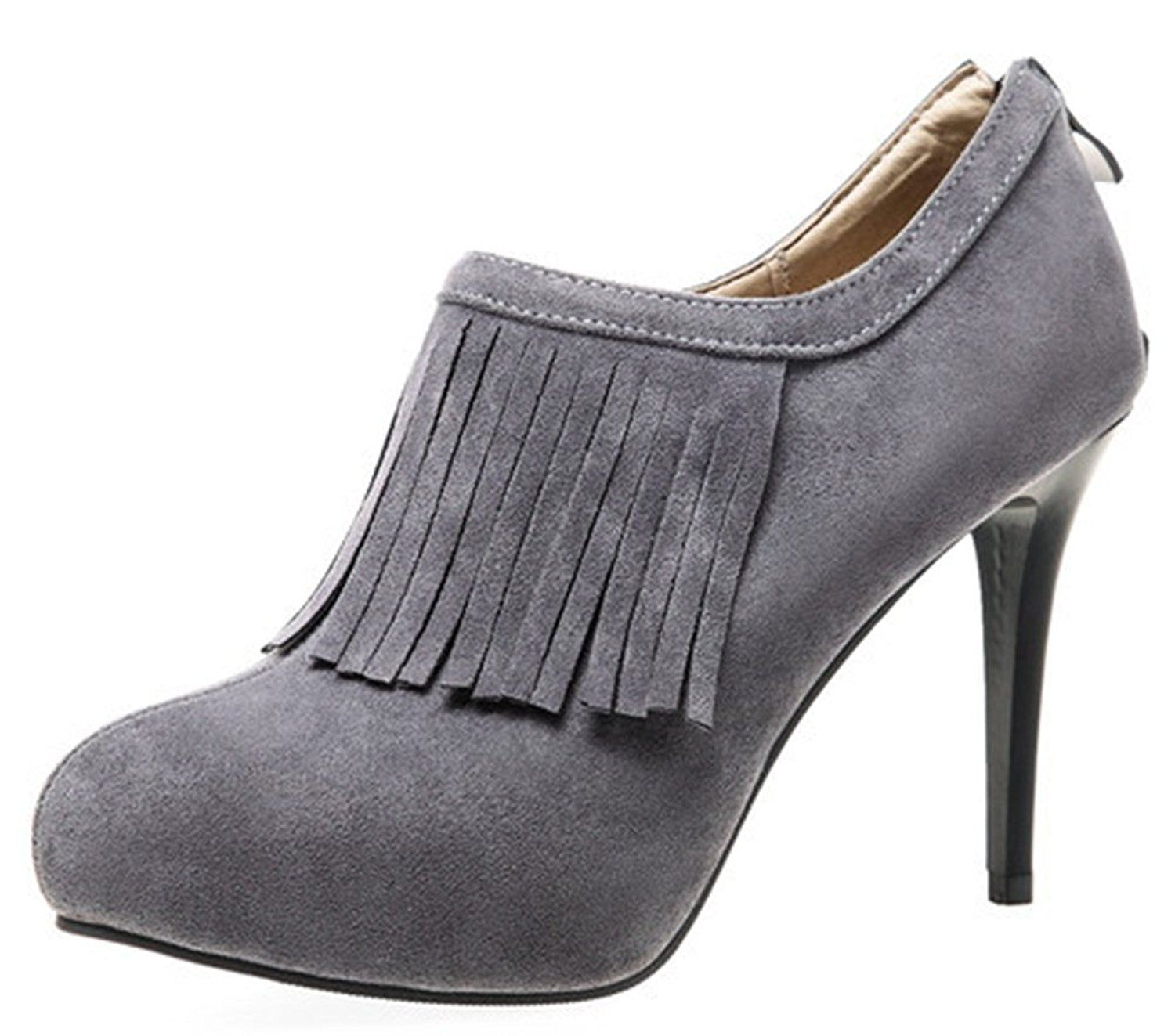 Women's Fashion Sexy Pointed Toe High Heel Bungee Ankle Boots