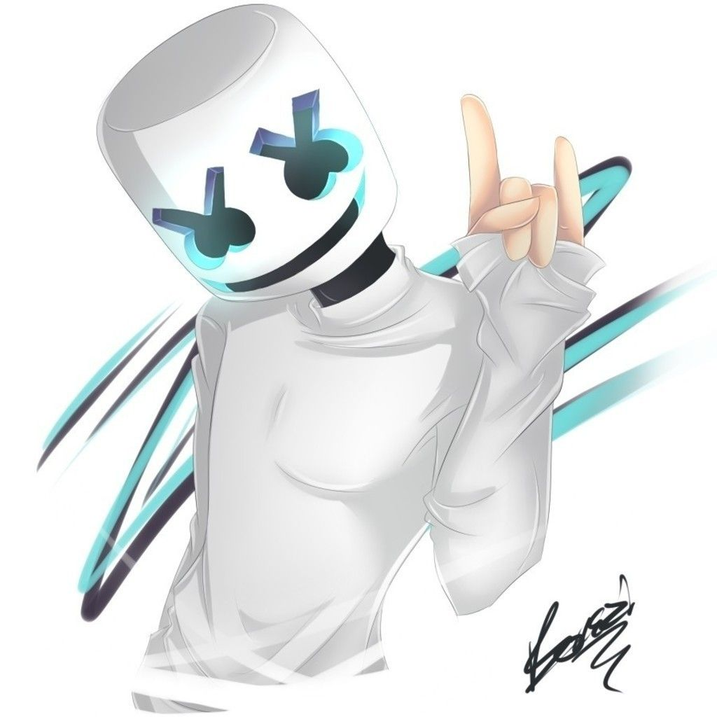 DJ, Music Art, Marshmello Wallpaper